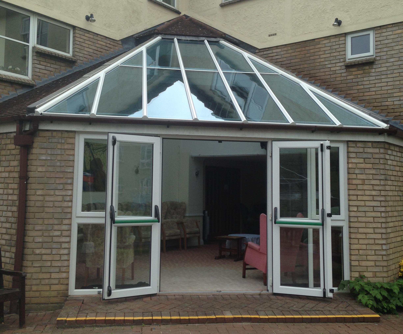 corner conservatory